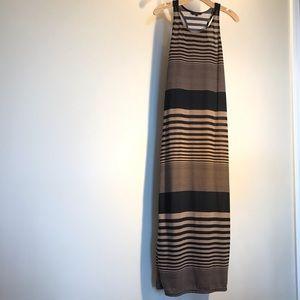 Women's Just Love size small striped maxi dress